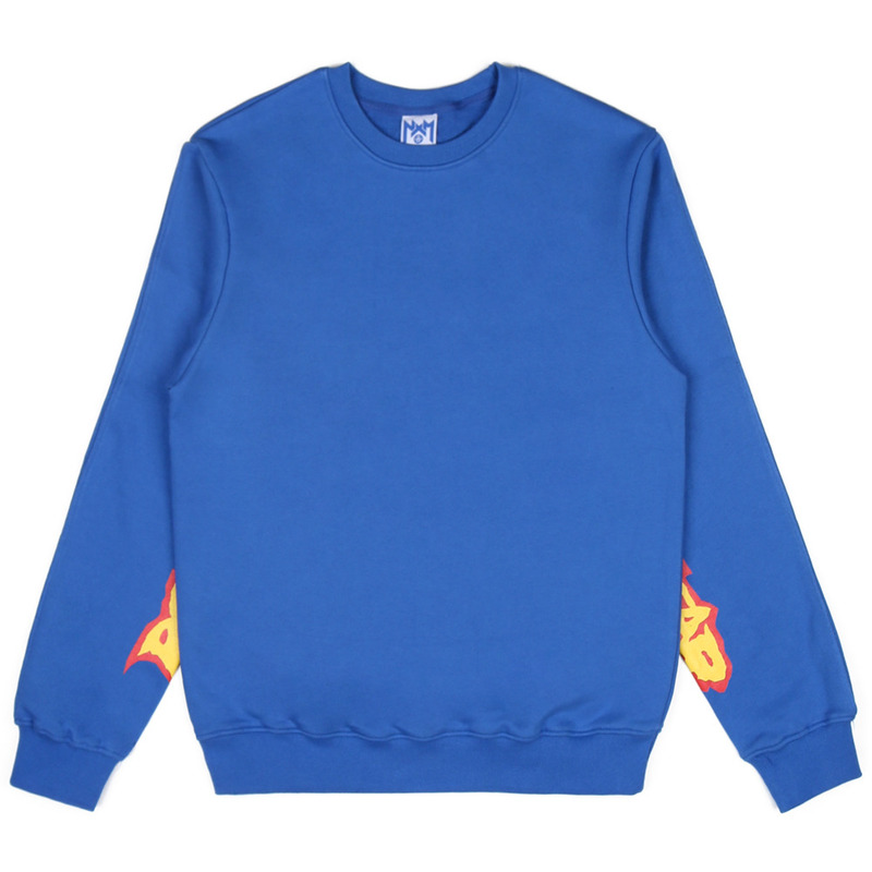 [NASTY PALM] ROCKSTAR SWEATSHIRT (BLUE) )