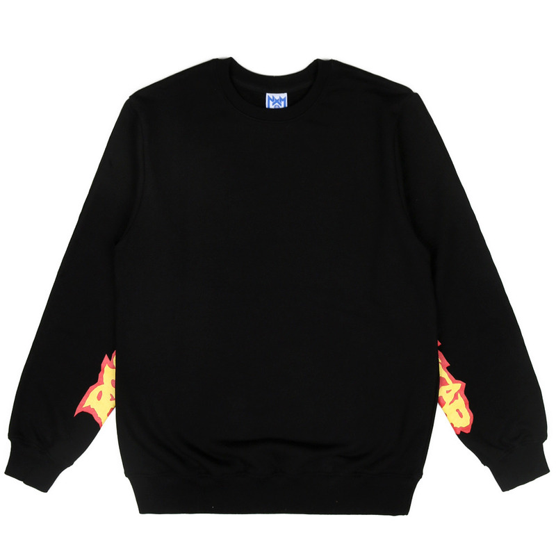 [NASTY PALM] ROCKSTAR SWEATSHIRT (BLK)