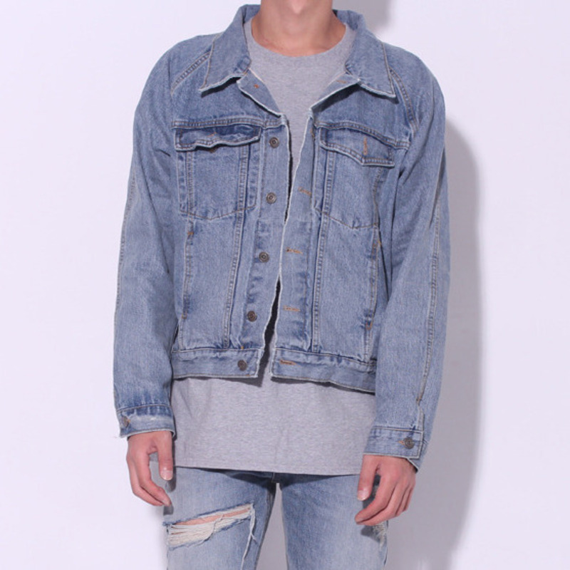 [BURJ SURTR] SELVEDGE DENIM JACKET