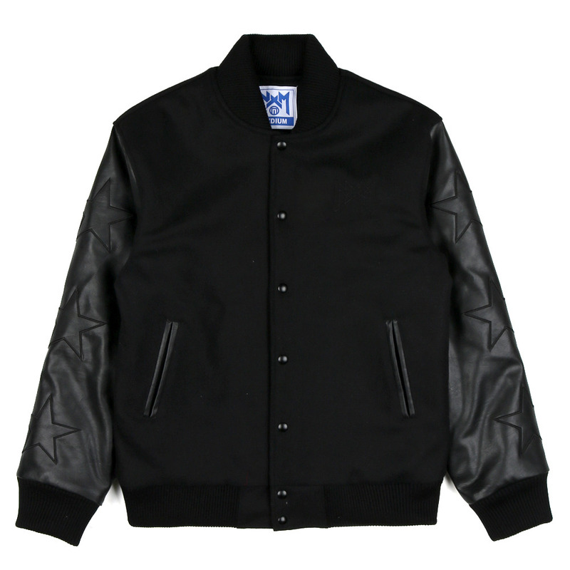 [NASTY PALM] N-STAR MOB STADIUM JACKET (BLK)