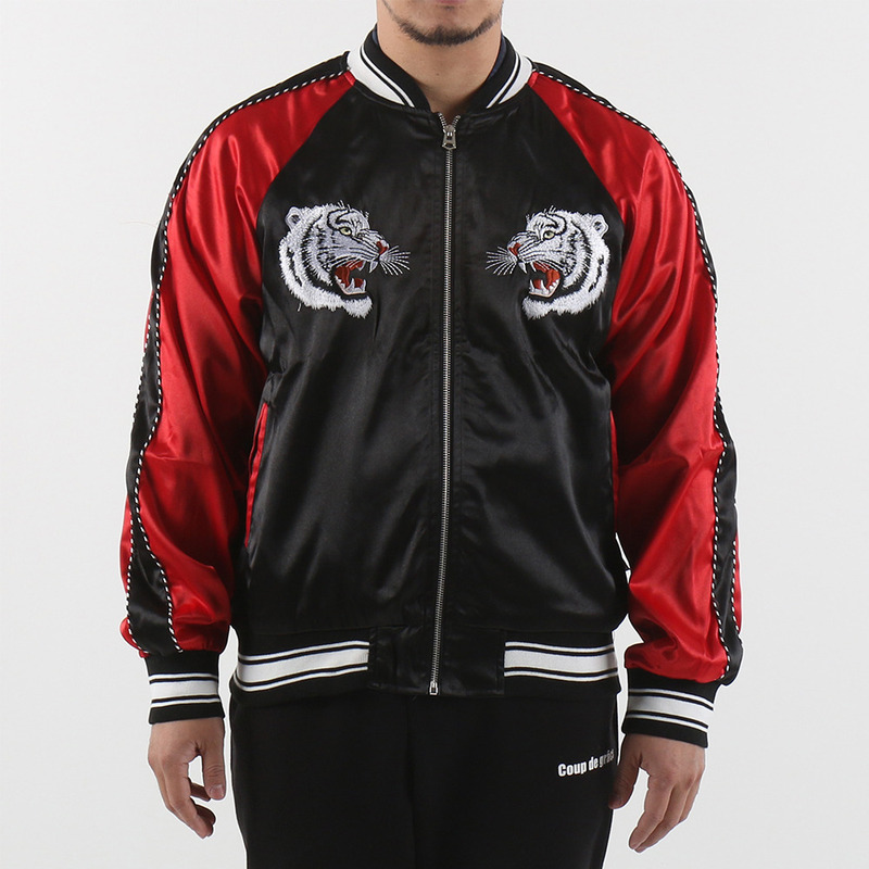 [$ SHOP SALE] [EPTM] CHOSUN TIGER SOUVENIR JACKET (BLK/RED)