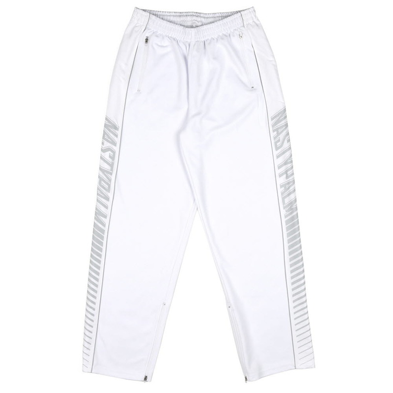 [NASTY PALM] NASTY REFLECT SWEATPANTS (WHT)
