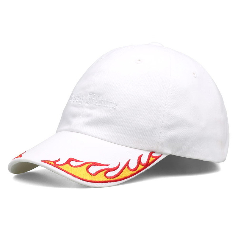 [NASTY PALM] NASTY FLAME CAP (WHT-RED)