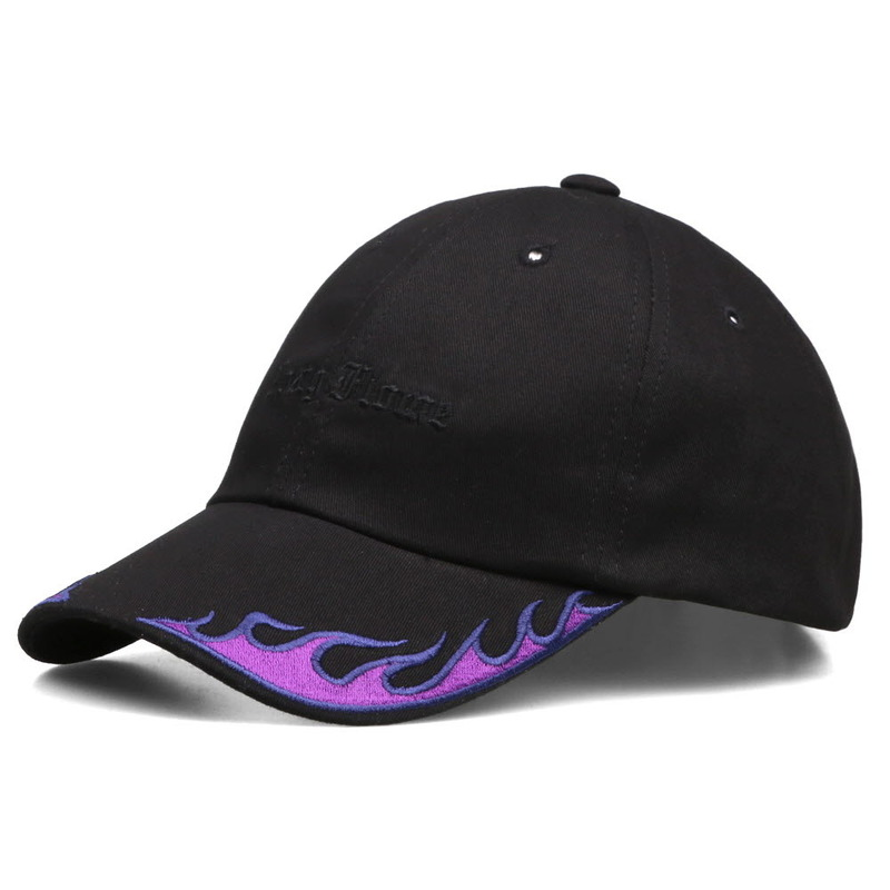 [NASTY PALM] NASTY FLAME CAP (BLK-PURPLE)