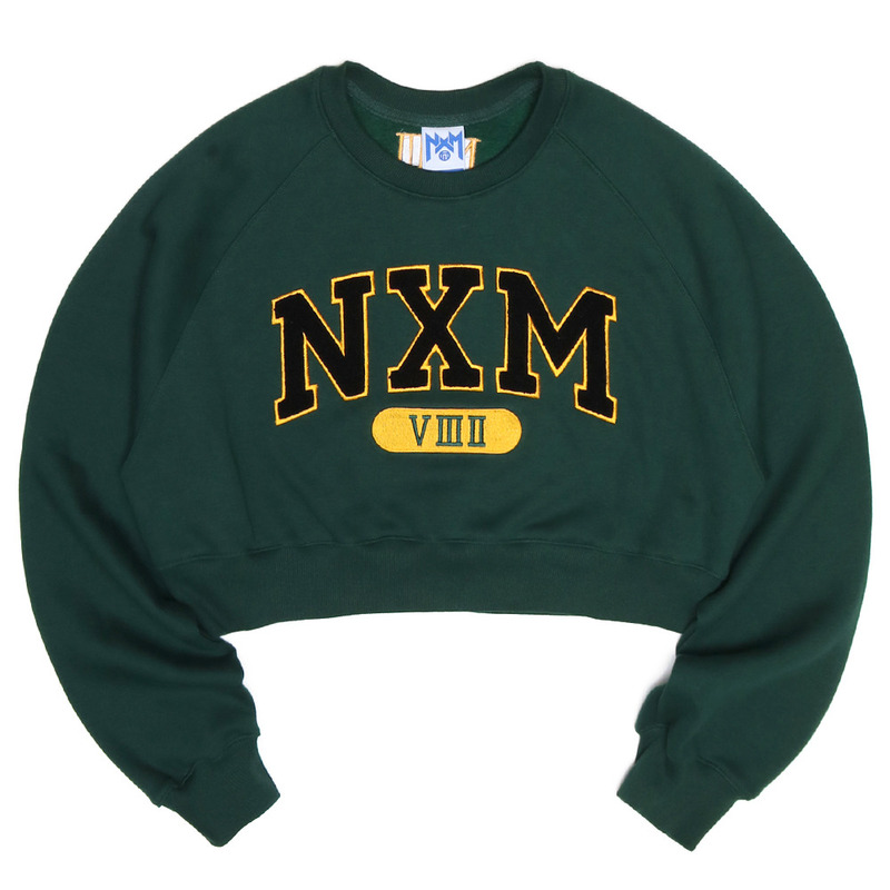 [NASTY PALM] NXM SENIOR FIT SWEATSHIRTS (GREEN)