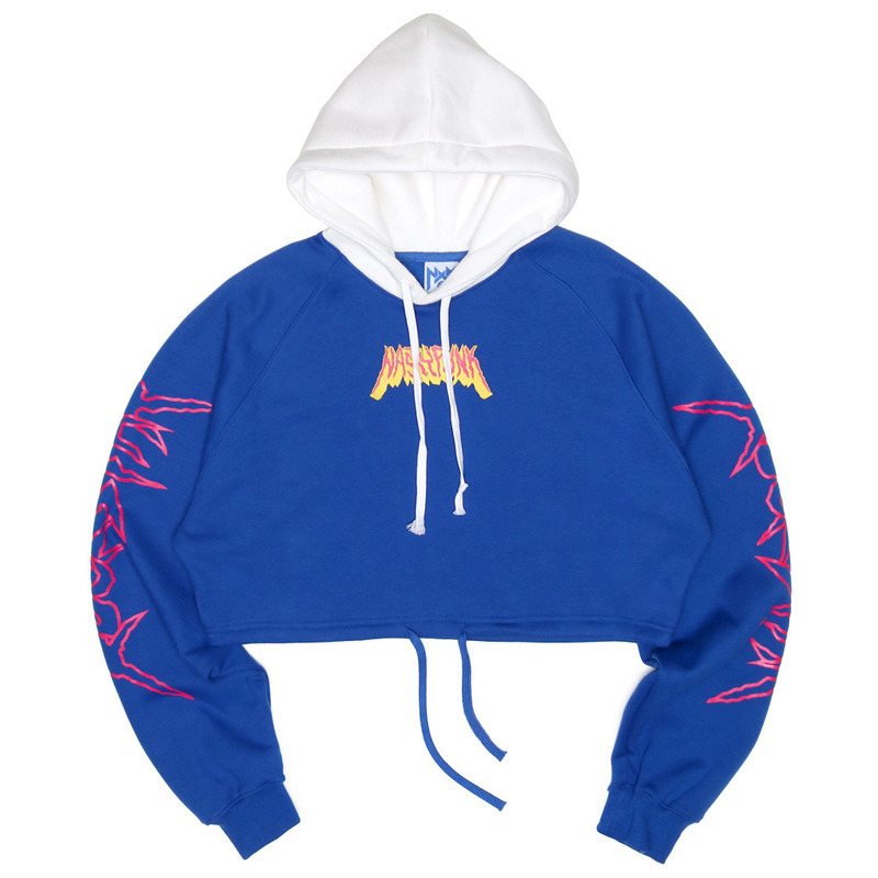 [NASTY PALM] NASTY ROCKSTAR FIT HOODIE (BLUE)