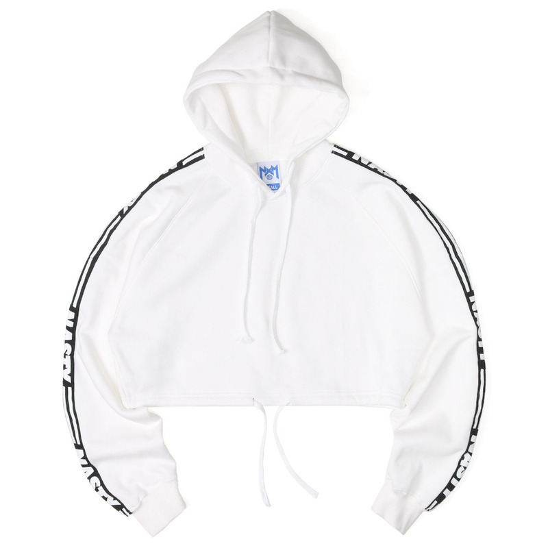 [NASTY PALM] NASTY LINE FIT HOODY (WHITE)
