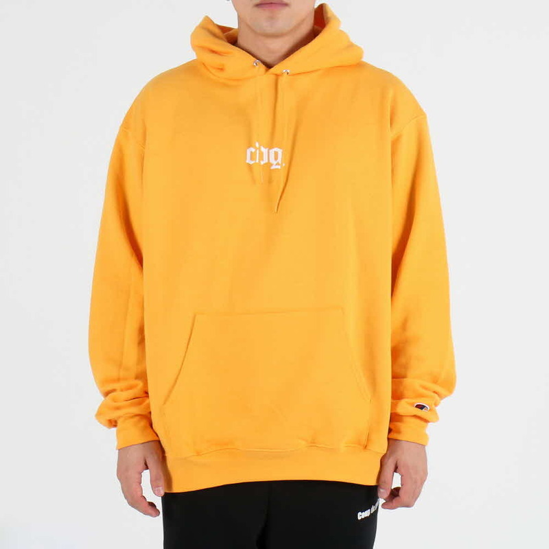 [$ SHOP SALE] [COUPDEGRACE] CDG CREW CHAMPS HOODY (GOLD YELLOW)