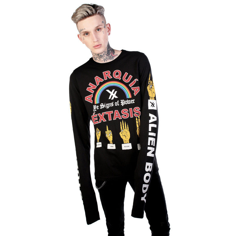 [DISTURBIA] ANARQUIA LONG SLEEVE