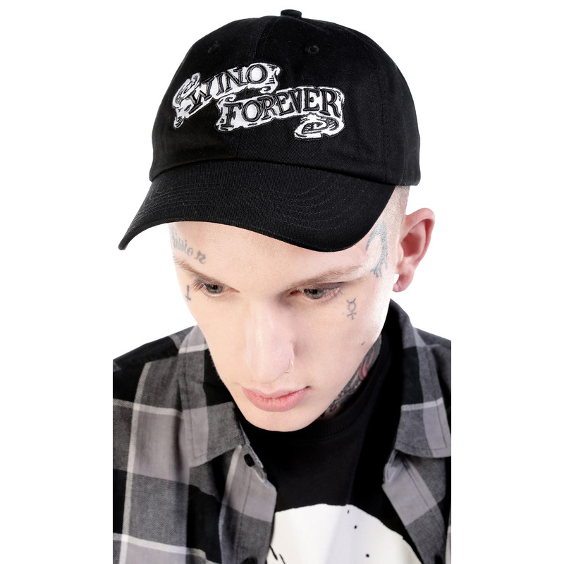 [DISTURBIA] WINO BLACK BALL CAP