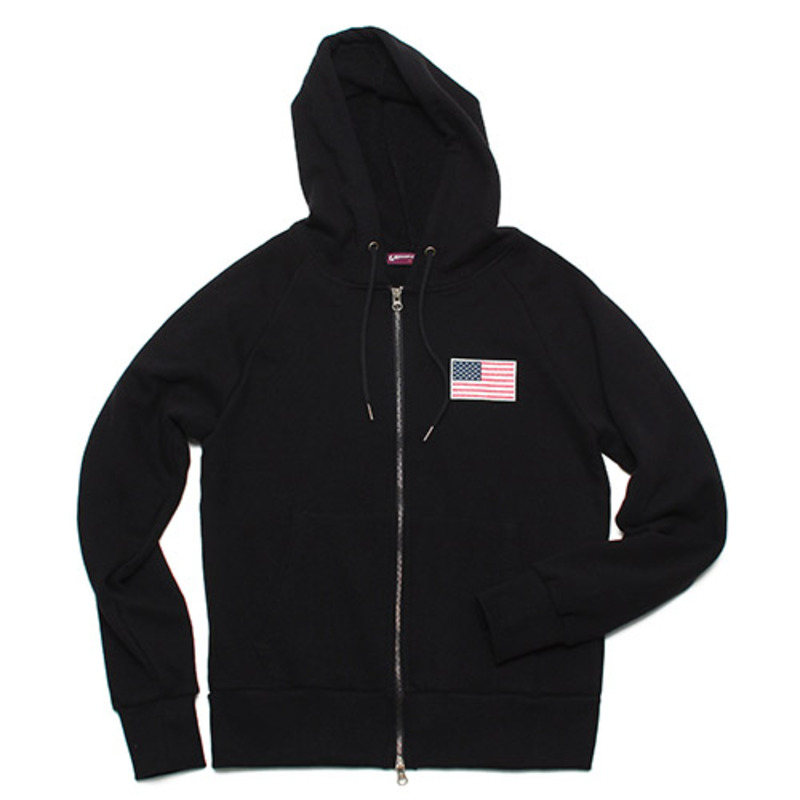 [GROSS INVENTORY] APOLLO ZIPUP HOODIE(BLACK)
