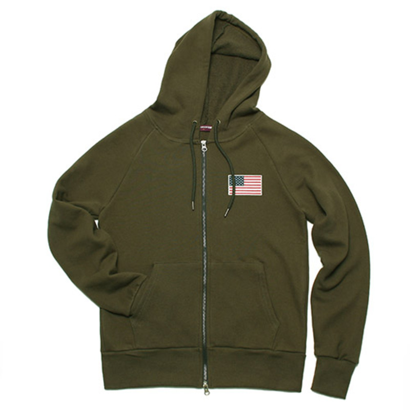 [GROSS INVENTORY] APOLLO ZIPUP HOODIE(KHAKI)