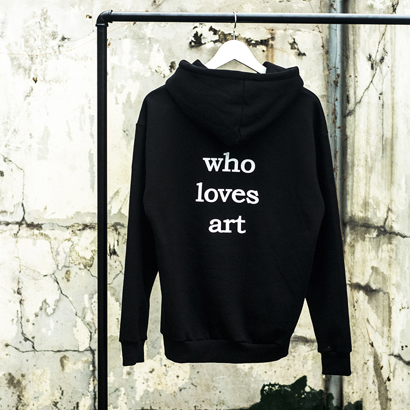 "[WHOLOVESART] UNISEX ""who loves art"" HOODY"