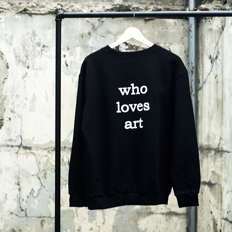 "[WHOLOVESART] UNISEX ""who loves art"" MTM"