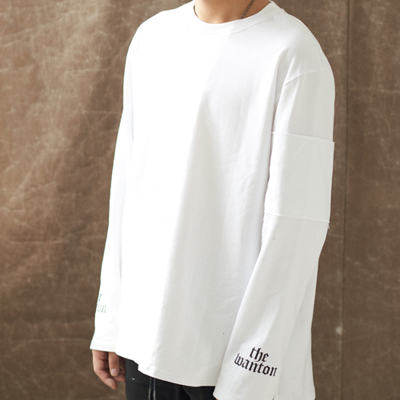 [WANTON] ANOTHER STREET LONG SLEEVE - WHITE