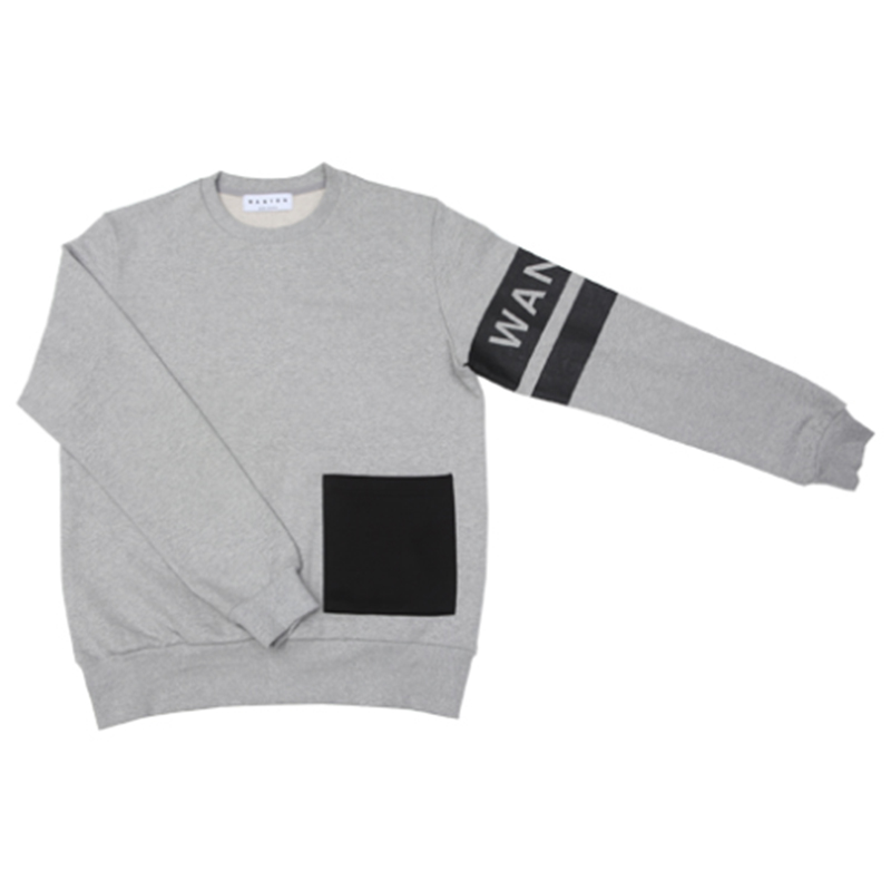 [WANTON] WANTON EXTRA POINT SWEATSHIRT GRAY