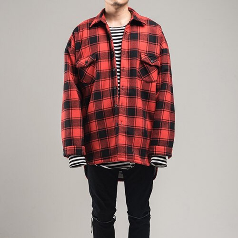 [FADIC] BOA FLANNEL CHECK SHIRT