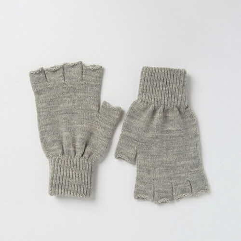 [ASOS] FINGERLESS GLOVES IN GREY MARL