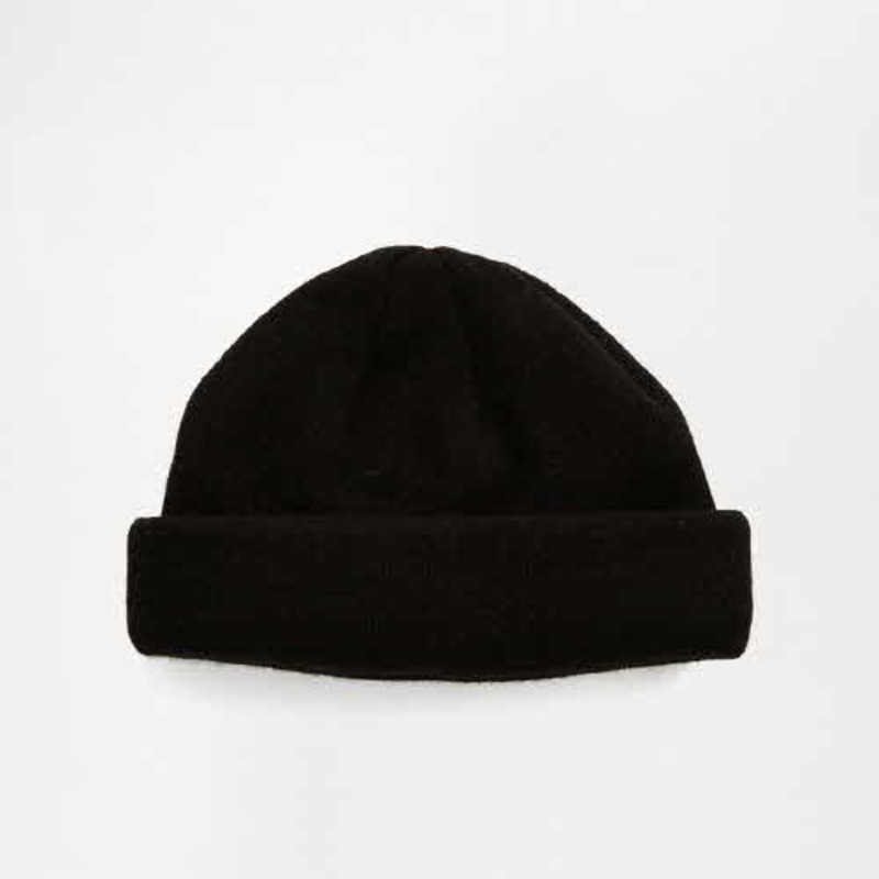 [ASOS] MINI FISHERMAN BEANIE IN BLACK