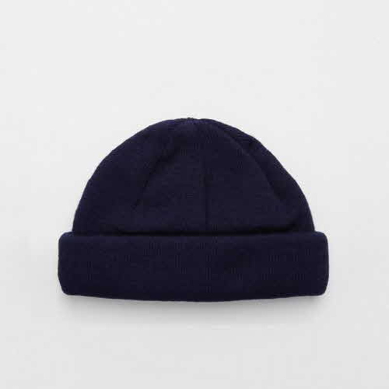 [ASOS] MINI FISHERMAN BEANIE IN NAVY