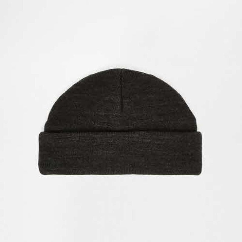 [ASOS] MINI FISHERMAN BEANIE IN CHARCOAL