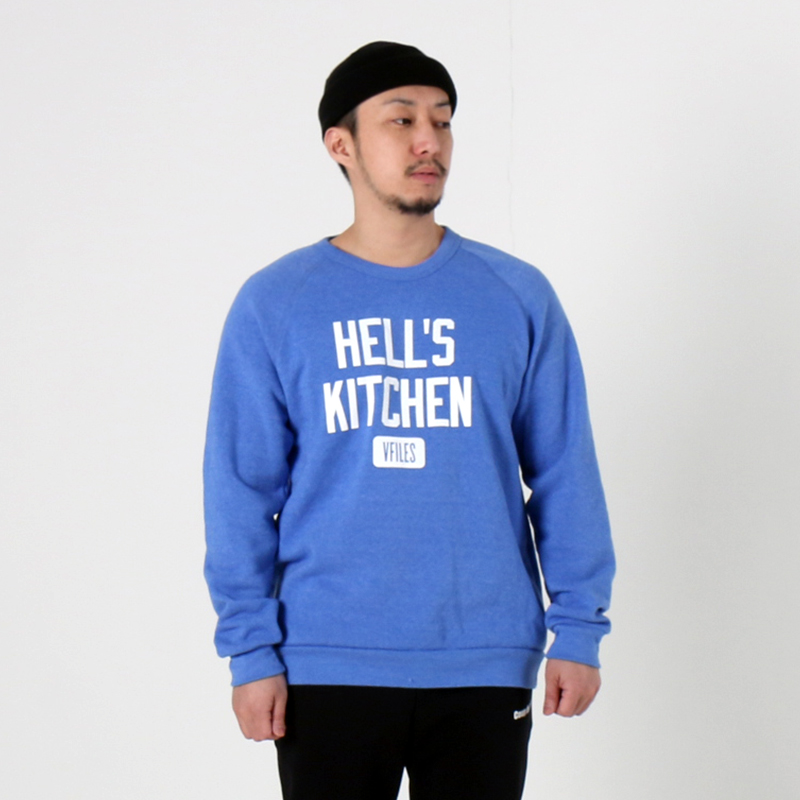 [$ SHOP SALE] [VFILES] HELL'S KITCHEN CREWNECK