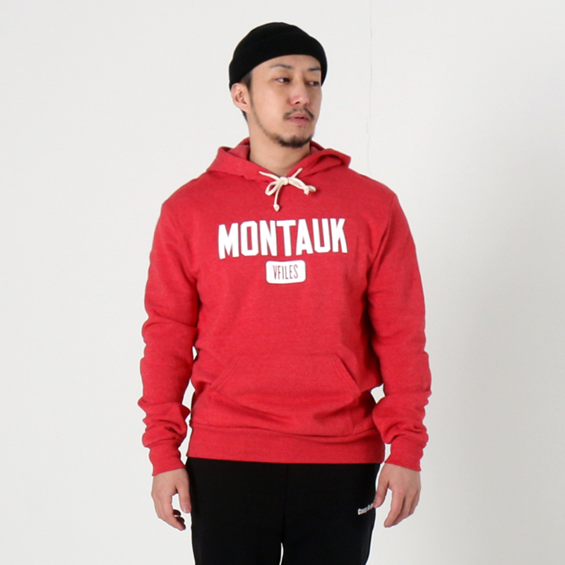 [$ SHOP SALE] [VFILES] RED MONTAUK HOODIE
