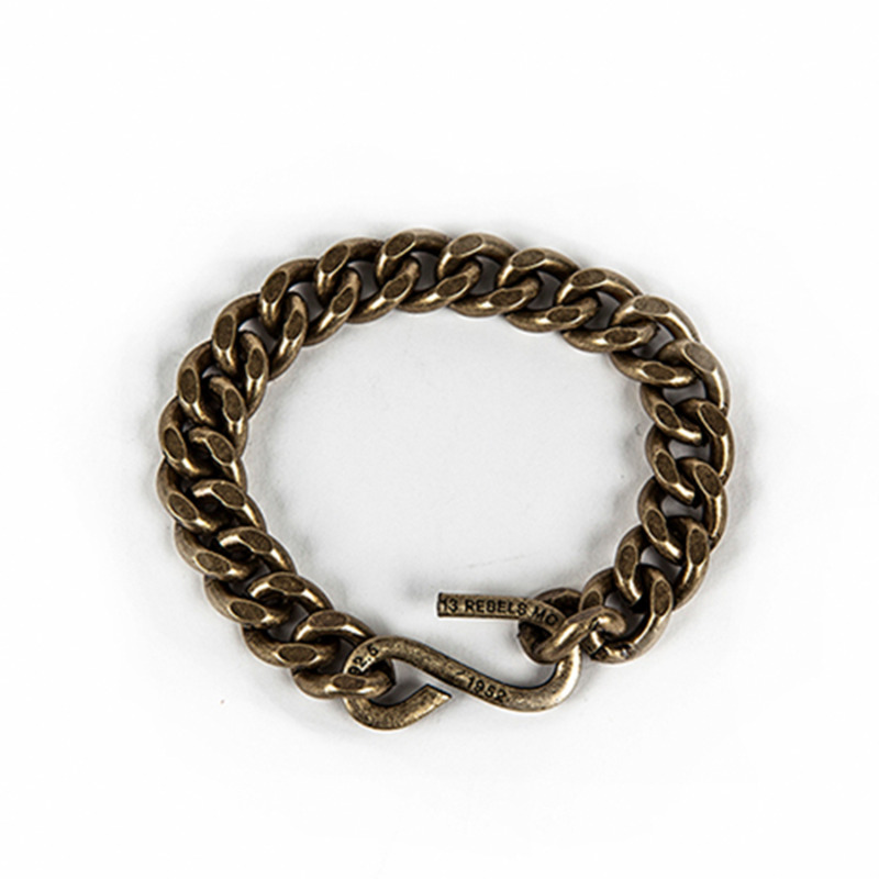 [AGINGCCC]  MS. 11# 1952 CHAIN BRACELET - BRASS