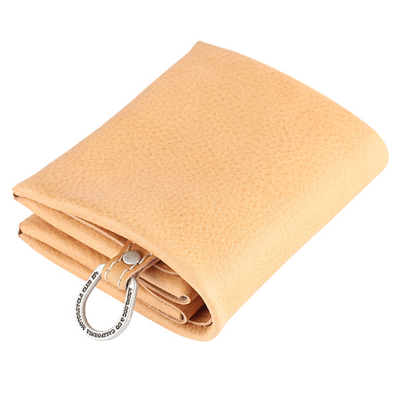 [AGINGCCC] MS. 21# C FOLD WALLET - NATURAL