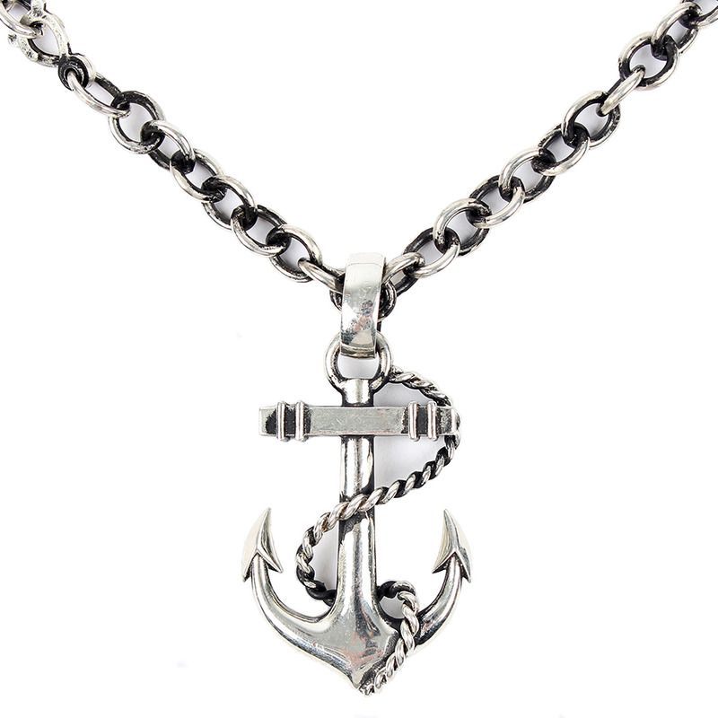 [AGINGCCC]  MS. 27# 92.5 ANCHOR NECKLACES