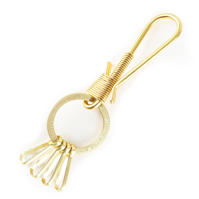 [AGINGCCC] MS. 36# 'SOLIDBRASS' KEY RING