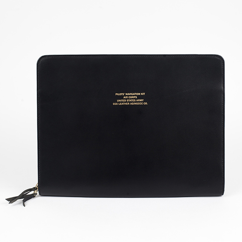 [AGINGCCC] MS. 39# PILOT N' BAG - BLACK
