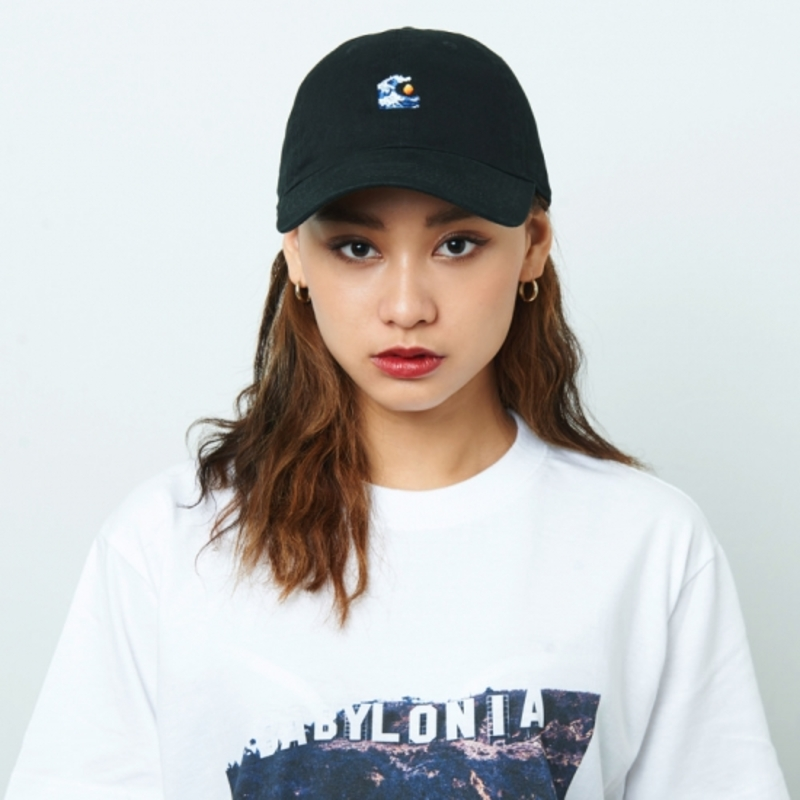 [$ SHOP SALE] [KANEZ] WAVE EYE POLO CAP BLACK