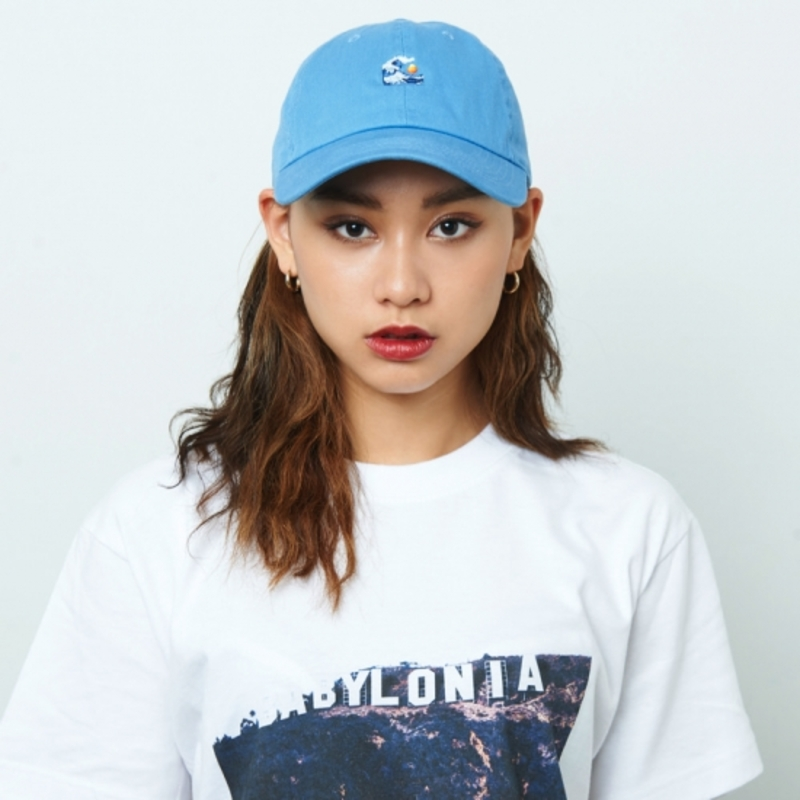 [$ SHOP SALE] [KANEZ] WAVE EYE POLO CAP SKY BLUE