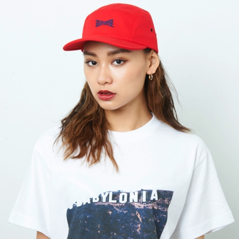 [$ SHOP SALE] [KANEZ] AMBIGRAM JET CAP RED