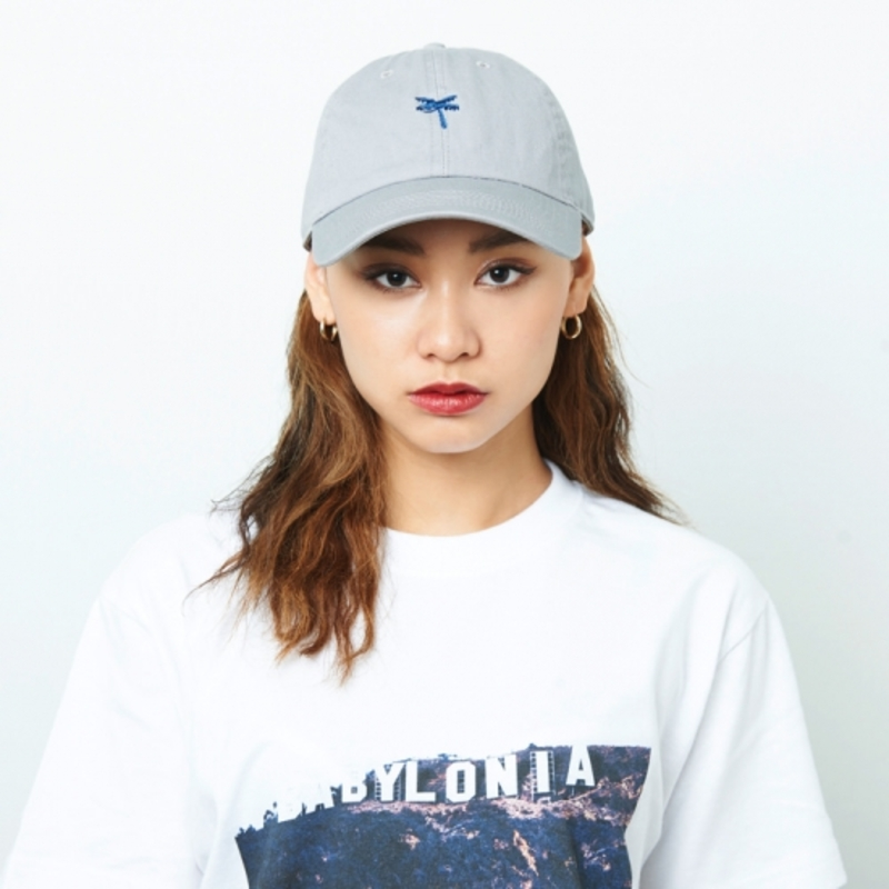 [$ SHOP SALE] [KANEZ] AMBIGRAM JET CAP GRAY