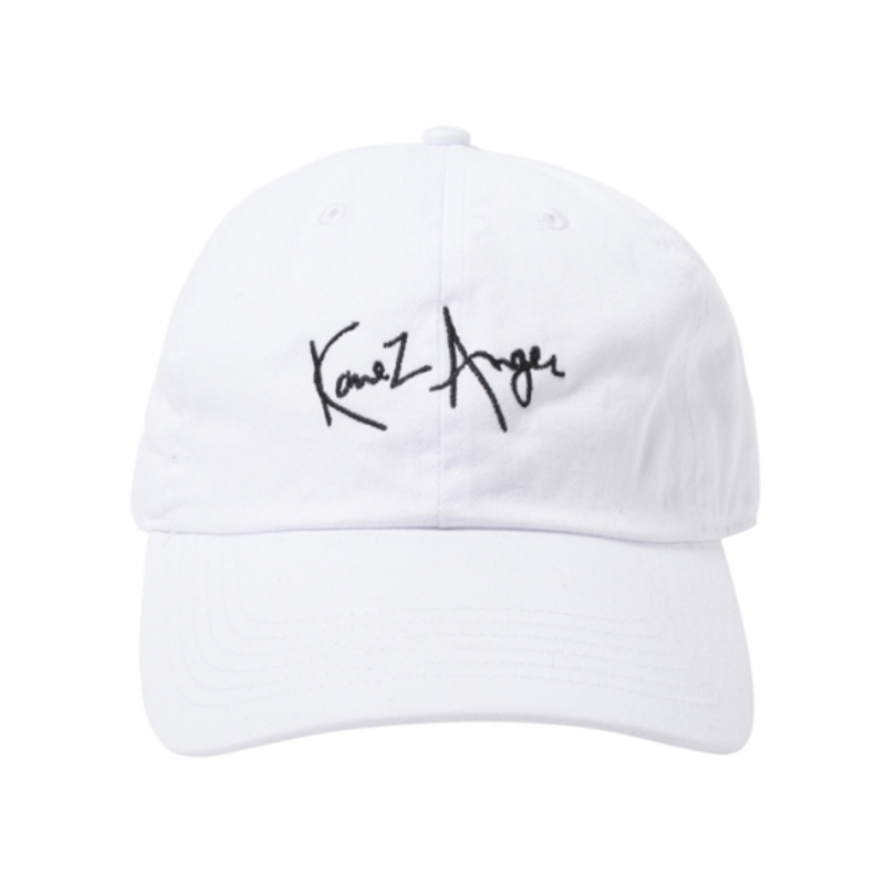 [$ SHOP SALE] [KANEZ] KaneZ ANGER POLO CAP WHITE
