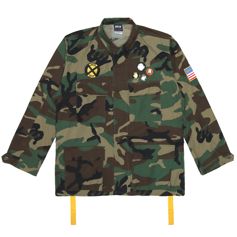 [NSTK] NSTK FURY CUSTOM JACKET (CAMO)
