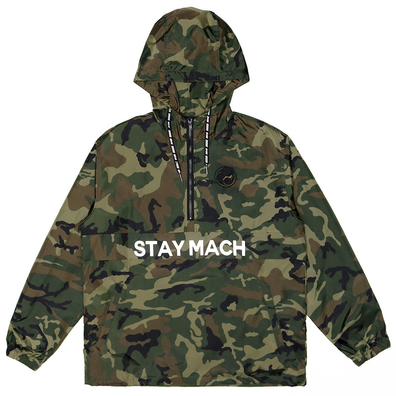[NSTK] STAYMACH PULLOVER JACKET (CAMO)