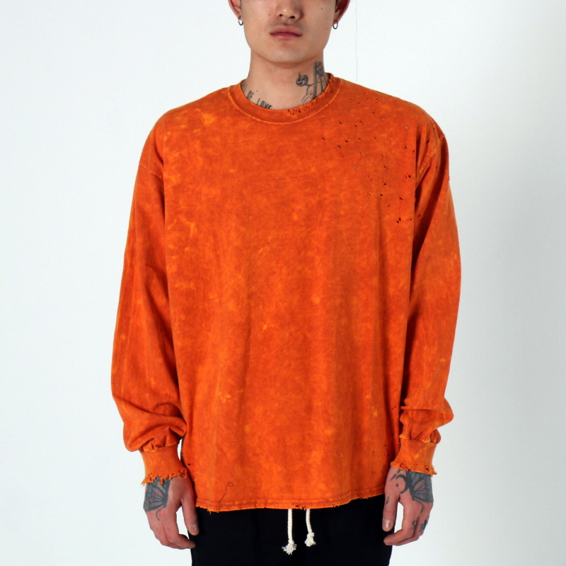 [$ SHOP SALE] [EPTM] SUPER BLAST LS BOX TEE (TEXAS ORANGE)