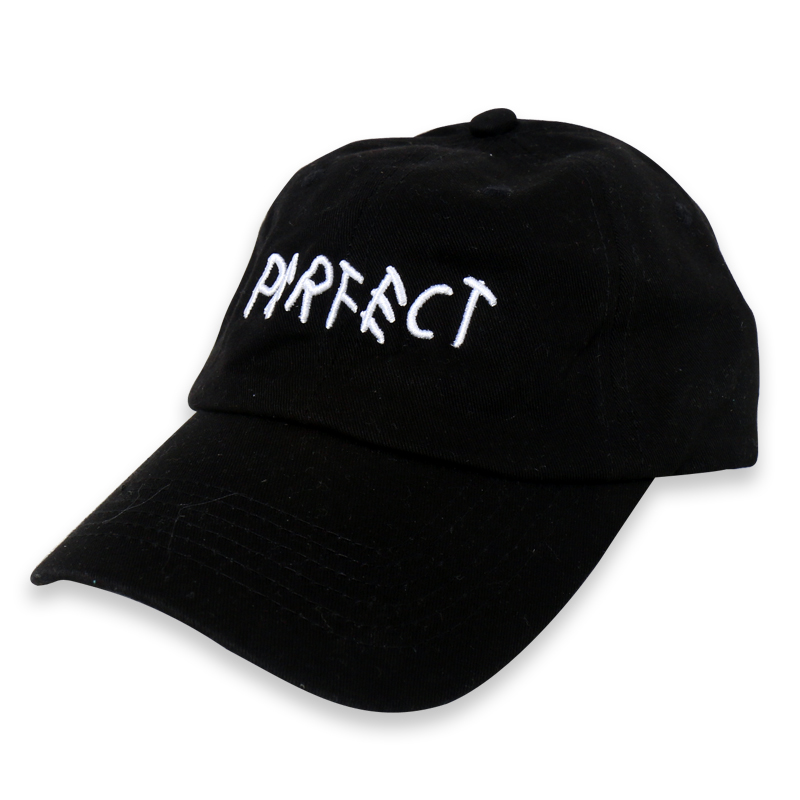 [쿠드그라스 연말 FINAL SALE] [EPTM] BLACK PERFECT DAD CAP