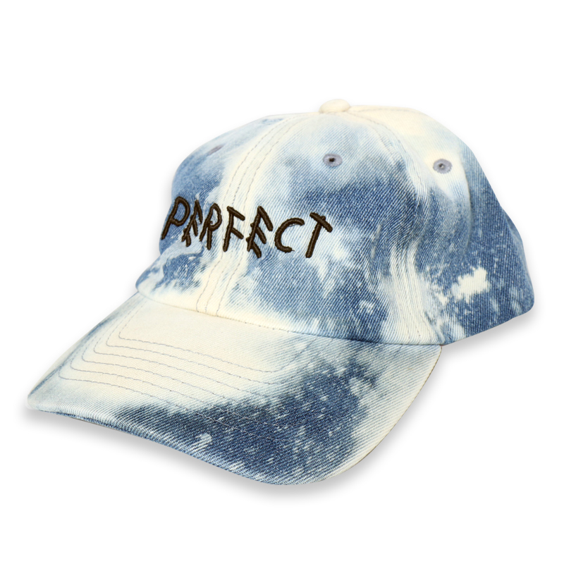 [쿠드그라스 연말 FINAL SALE] [EPTM] BLEACHED DENIM DAD CAP