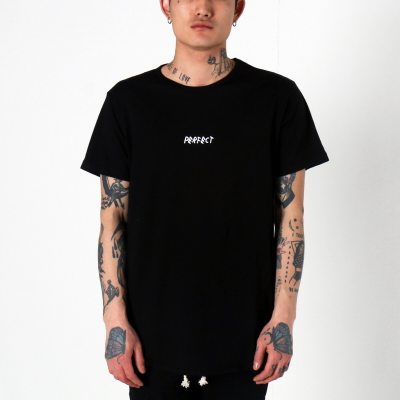 [1+1 EVENT] [$ SHOP SALE] [EPTM] PERFECT OG LONG TEE (BLACK)
