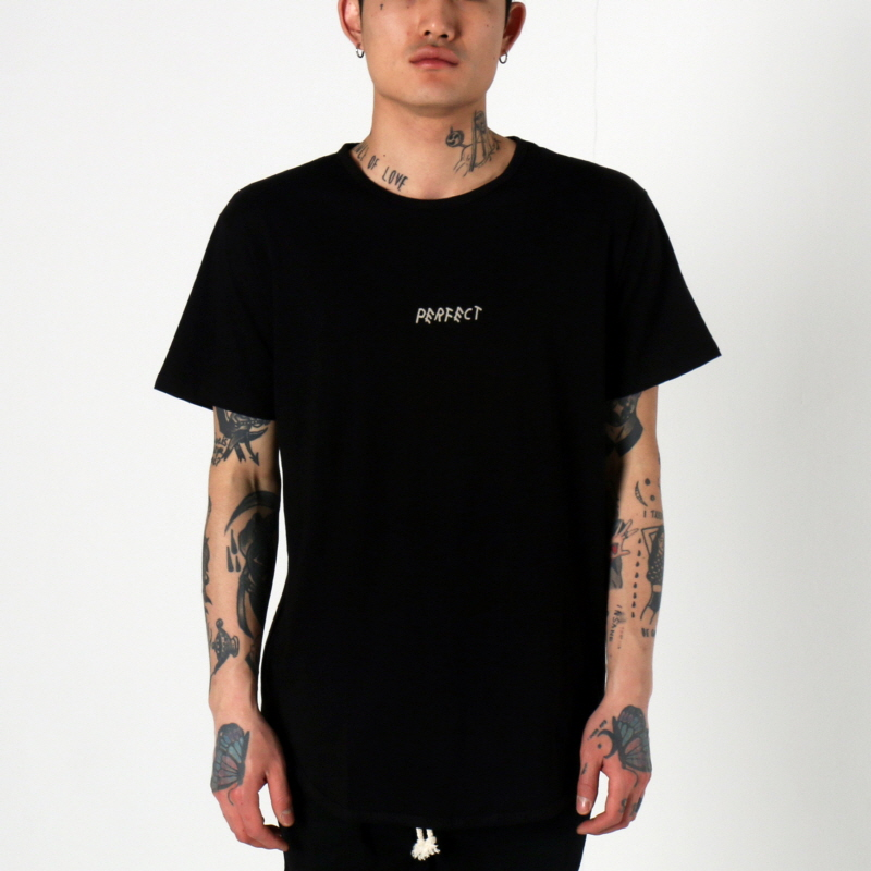 [쿠드그라스 연말 FINAL SALE] [EPTM] PERFECT OG LONG TEE (GLOW LOGO BLACK)