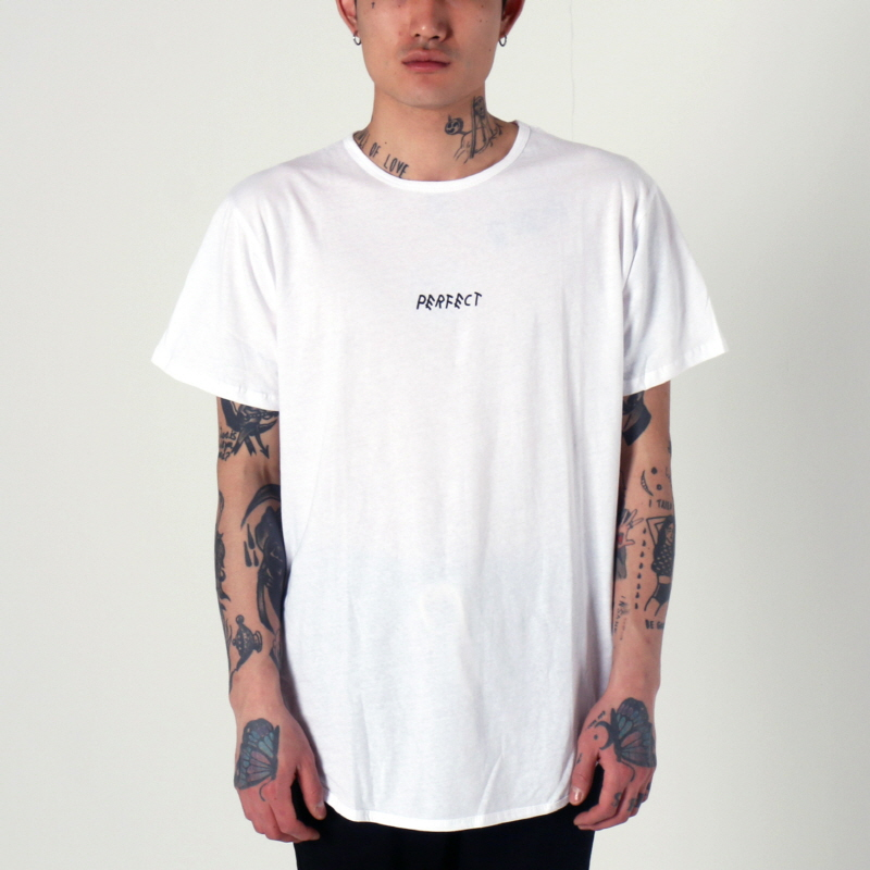 [1+1 EVENT] [$ SHOP SALE] [EPTM] PERFECT OG LONG TEE (WHITE)