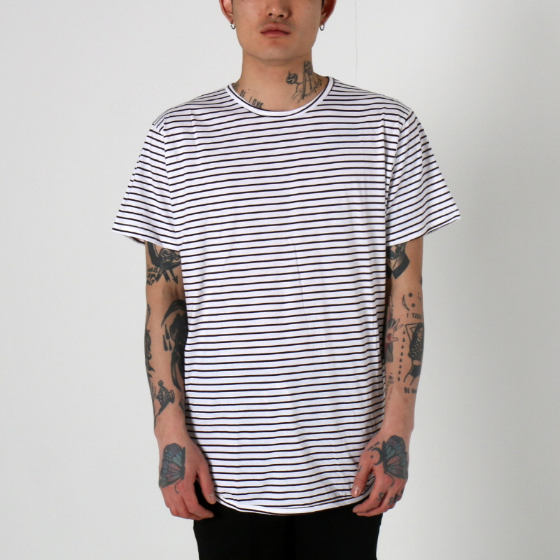 [$ SHOP SALE] [EPTM] STRIPE OG LONG TEE (BROWN)