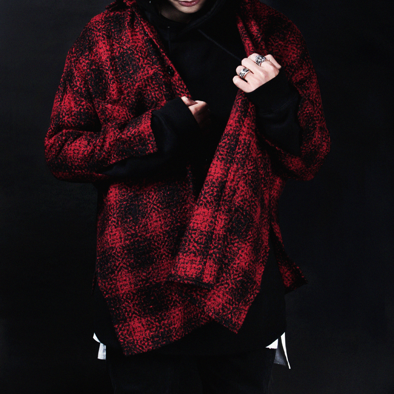 [INNOVANT] FLANNEL SHIRT (RED)