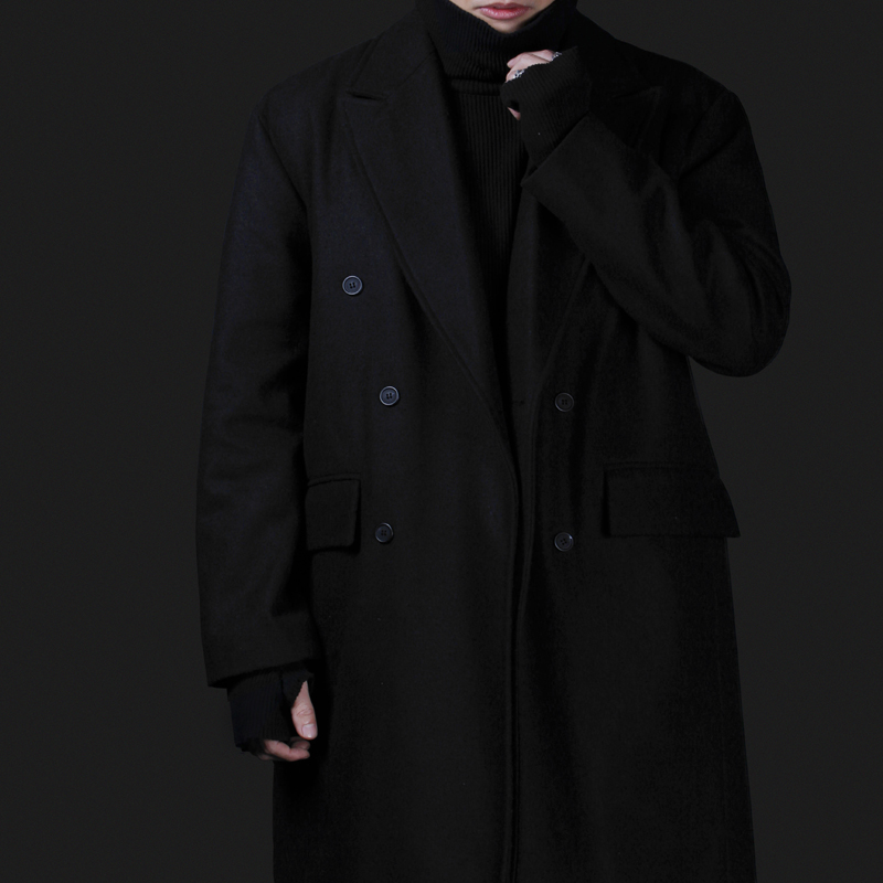 [INNOVANT] LONG COAT (BLACK)