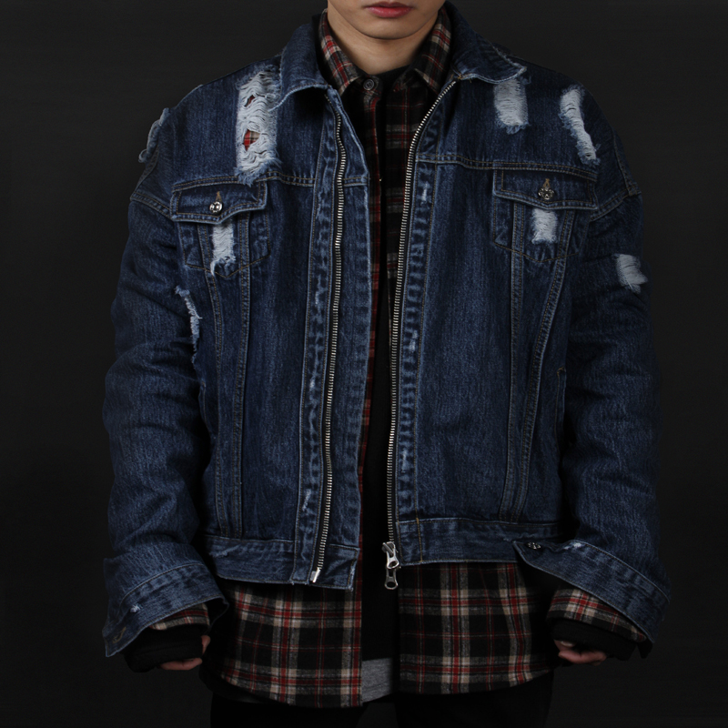 [INNOVANT] DENNIM WASHED JACKET (BLUE)