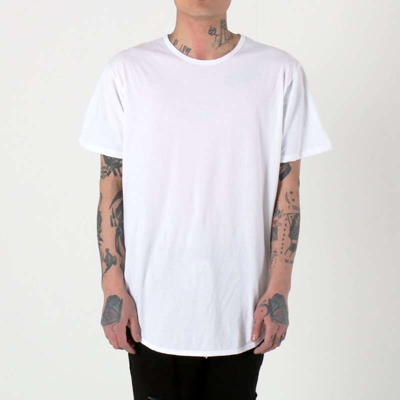 [1+1 EVENT] [$ SHOP SALE] [EPTM] OG LONG TEE (WHITE)